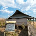 Exterior of guest unit at Toka Leya Camp