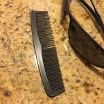 Worst. Comb. Ever. But necessary