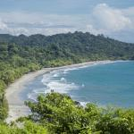 View from the Mirador Restaurant of Manuel Antonio