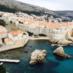 View from Dubrovnik Castle - unfortunately it was closed when we arrived so this is the view fro