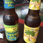 Hoppin IPA is ok, heavy and not a great finish.  I wouldn't order a second and didn't finish the