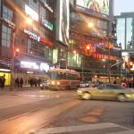 Studio 6 and Yonge and Dundas street.
