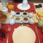 A selection of some of the breakfast served