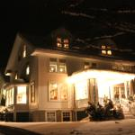 The House at Night in Winter