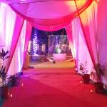 Entry decoration for Wedding Functions at Karjat Heritage