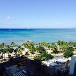 The view facing Waikiki from the 12th floor!