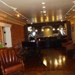 Bar and reception area