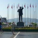 The Statue of Kemal Ataturk, Marmaris promenade