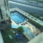 View of pool area
