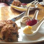 Scone kit as enjoyed on Mother's Day afternoon!