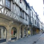 Examples of the older buildings in Dijon