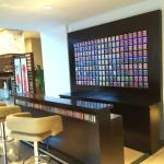 wide selection of tea at the tea bar