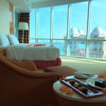 Our lovely room with a very nice view ��
