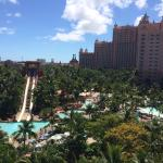 View from water slide tower