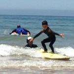 And later that day even the little surf dude!
