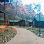 Pathway to the Cabins/Rooms
