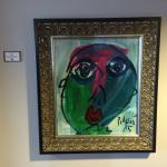 Example of original artwork in the hotel