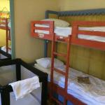 Bunk bed in family room