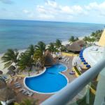 This was the view from our room on the 7th floor.