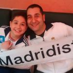 Dos Madridistas en el holliday