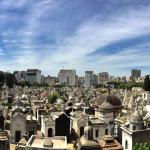 View from our room / Recoleta cemetery
