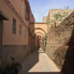 Side road that leads to the Riad