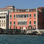 My first glimpse of the Danieli from their water taxi