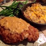 Two of my sons raved about the chicken fried chicken @ Purple Sage
