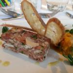 Delicious starter from the Mother's Day Menu
