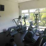 New gym with aircon on the 2nd floor