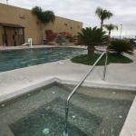 Enjoy an on-site pool and hot tub.