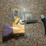Knife broke in half trying to cut a slice of cheese