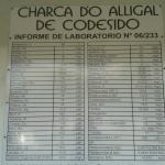 Charca Do alligal junto al hotel