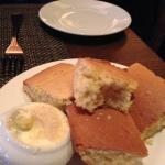 Corn bread - perfect start to the meal