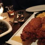 Fried chicken with truffle honey!