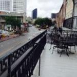 View from the balcony on Decatur