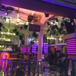Bar while setting up for RTL
