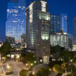 Grand Hyatt Atlanta Night Exterior