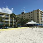 The Alden and Cabana Bar from beach