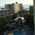 View from balcony in room 611