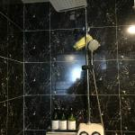 Shower with steam function
