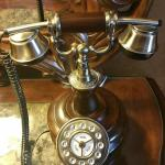 The beautiful phone in the King Deluxe Sundeck room!