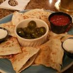 Chicken Quesadilla at the Tavern...It was DELICIOUS!!