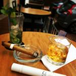 Lussac, hotel park 10 casual food bar, zacapa rum and habano
