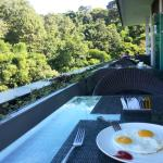 The view during breakfast