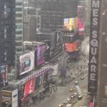 Time Square from our room