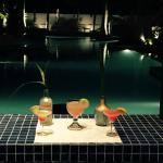 Bar/Pool at night