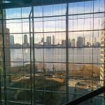 Hudson River view from hall