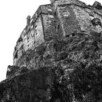 Edinburgh Castle B&W 35mm Film www.matthewlees.com