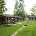 Outside of cabins